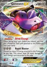 Genesect EX - 64/124 XY10 Fates Collide - EX Karte Englisch NM Pokemon