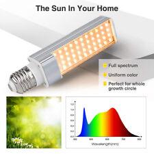 2PCS 110-240V Grow Lights Bulb 45W Full Spectrum Sunlike Grow Lamp Professional