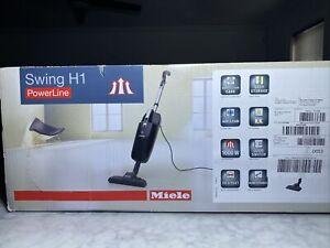 MIELE-Swing H1 PowerLine SAAO0-Obsidian Black-Brand New In Box-Sealed