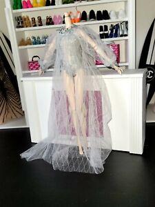 Mina Brides of Dracula Mizi JHDTOYS doll wedding gown  Poppy Parker FR Nuface