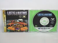 LAST GLADIATORS Green Version Sega Saturn Japan Game ss