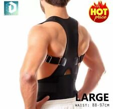 DUNSPEN  Large Adjustable Support Brace Posture For Lower and Upper Back Pain