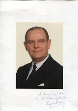 Autographe Dédicace ORIGINAL de RAYMOND BARRE format 21x30