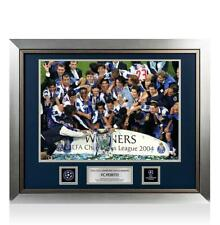 More details for unsigned fc porto official uefa champions league framed photo: 2004 winners