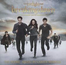 CARTER BURWELL: BREAKING DAWN-PART2-TWILIGHT SAGA (THE SCORE) CD SOUNDTRACK NEU