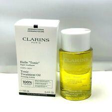 Clarins Tonic Treatment Oil Firming,Toning 100ml/3.4fl.oz. New In Tst Box