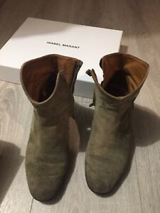 Boots isabel marant Dickers 36 Audrey Lombard Sushi Pedro