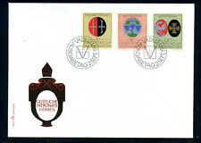 Leichtenstein FDC, 1971 Coats of Arms, Wappen, Mi. 548 - 550.