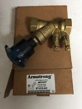 1 Inch Balancing Valve Armstrong ABV100VT New 5-20 GPM