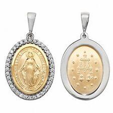 Madonna Anhänger Gold Madonna Halskette