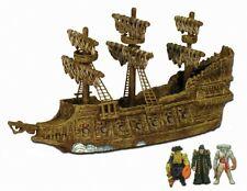 Piratas Del Caribe Barco Pirata 3 micro flota volando holandés 3 figuras