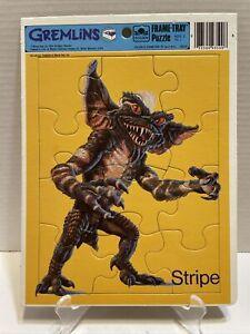 VINTAGE GREMLINS STRIPE GOLDEN FRAME - TRAY PUZZLE 1984