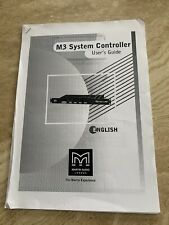 Martin Audio M3 System Controller Manual
