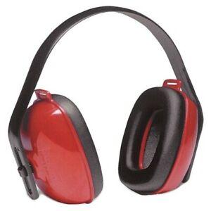 Howard Leight QM24PLUS Earmuff Hearing Protection w/Headband Red 20 Pack