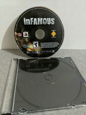Infamous PS3 Playstation 3 DISC ONLY