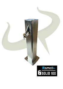 Solid 100 Telescopic Driveway Parking Bollard Vehicle Security Post Anti-Ram RT