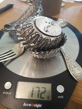 More details for a mixed lot of silver for scrap or sale some nice pieces hallmarked 170g