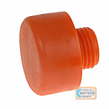 THOR 416PF 50mm Replacement Orange Plastic Hammer Face Screw In Head