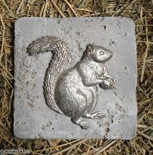 """squirrel travertine tile mold abs plastic mould 6"""" x 6"""" x 1/3"""" thick"""
