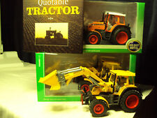 2 X FENDT 312 VARIO 1/32 BRITAINS SCALE TRACTORS & BOOK