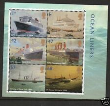 GB 2004 Ocean liners Minisheet SGMS2454 unmounted mint stamps cat £20
