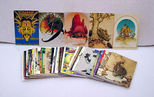 1996 WILLIAM STOUT LOST WORLDS Trading Card Set of 90 Cards-FREE S&H (TC-1811)