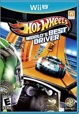 Nintendo Wii U WiiU Spiel ***** Hot Wheels Worlds Best Driver ***********NEU*NEW