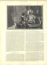 1891 Miss Ellen Terry come Nance OLDFIELD disegnato da FH Townsend