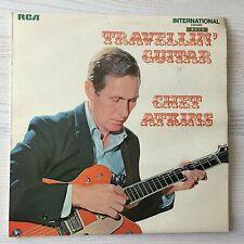 CHET ATKINS - TRAVELLIN' GUITAR - VINYL LP RECORD