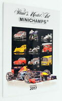 Minichamps Model Car Fully Illustrated A4 Catalogue ED12017 - Edition 1 2017