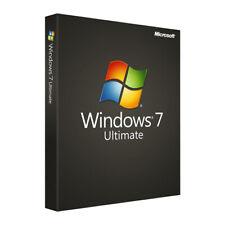 Win 7 Ultimate SP1 32/64 bit license key