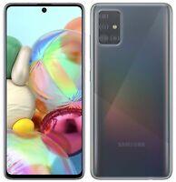 HANDY ZUBEHÖR für Samsung Galaxy A71 (A715F) SCHUTZHÜLLE SILIKON in Transparent