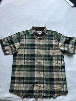 Mountain Khakis Tomahawk Madras Shirt, Kelp, Large