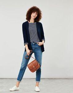 Joules Womens Rana Milano Knit Cardigan - French Navy - 6