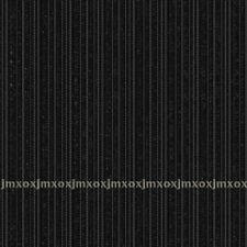 Black Modern Stripe Classic Stripe Print Pattern Design Wallpaper Roll 10m