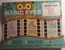 Sawyer Tru-Vue Magic Eyes Disney Peter Pan Story Set MOC