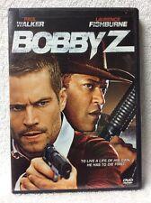 Bobby Z DVD Paul Walker Laurence Fishburne Olivia Wilde Jacob Vargas Jason Lewis