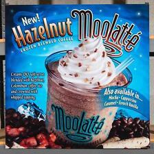 Dairy Queen Promotional Poster For Backlit Menu Sign Hazelnut Moolatte dq2