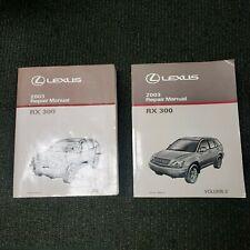 2003 Lexus RX 300 Shop Service Repair Manual Complete Set