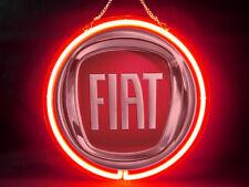 FIAT Garage Car Racing F1 Hub Bar Shop Advertising Neon Sign