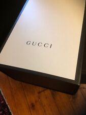 """GUCCI Original Authentic Empty Large Shoe Box Only 15"""" X  10""""x 7"""" Flip Top"""