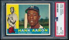 1960 Topps Hank Aaron #300 PSA 8 + Well Centered, Tough