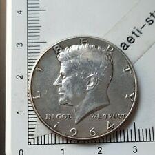 I22403 pièce de monnaie argent half 1/2 dollar 1964 D Denver USA