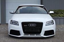 AUDI A3 S3 8P 8PA RS3 LOOK FRONT BUMPER AND GRILLE + FOGLIGHTS 08-13 - PLASTIC
