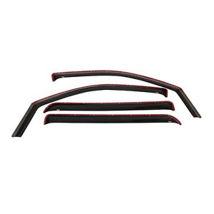 Westin 72-37497 In-Channel Wind Deflector Fits 97-17 Expedition Navigator