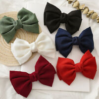 Oversized Bow Knotted Women Barrettes Hair Clips Ponytail Clip Hair Accessories