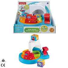 Fisher Price Pre-School Roller Blocks Whirlin' Train Town Age 6-36 Months CDC13