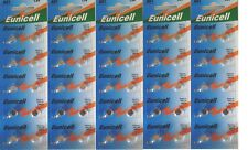 EUNCELL Lot de 50 Piles bouton AG1 LR621 164 364 531 1,5V alcaline