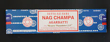 40g Box Satya NAG CHAMPA Original Scent Incense Insence Sticks Bulk Value Pack