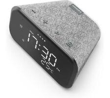 LENOVO Smart Alarm Clock Essential with Google Assistant Night Light - Grey BNIB